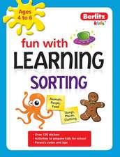 Berlitz Language: Fun With Learning: Sorting (4-6 Years)