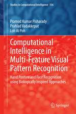 Computational Intelligence in Multi-Feature Visual Pattern Recognition: Hand Posture and Face Recognition using Biologically Inspired Approaches