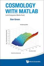 Cosmology with MATLAB (with Companion Media Pack)