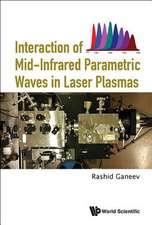 Interaction of Mid-Infrared Parametric Waves in Laser Plasmas