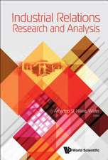 Industrial Relations Research and Analysis
