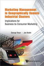 Marketing Management in Geographically Remote Industrial Clusters