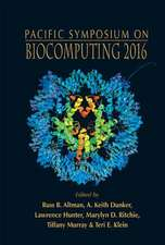 Biocomputing 2016 - Proceedings of the Pacific Symposium