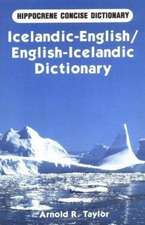 English-Icelandic Mathematical Dictionary